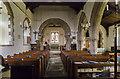 SK6754 : Interior, St Michael's church, Halam by Julian P Guffogg