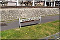 TQ2735 : Wakehurst Drive road name sign, Southgate, Crawley, West Sussex by P L Chadwick