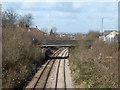 TQ2184 : Bridge over Dudding Hill line by Robin Webster