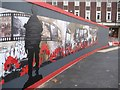 SO8554 : Remembrance hoarding by Philip Halling