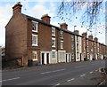 SJ4913 : Row of 3-storey houses, St Michael's Street, Shrewsbury by Jaggery