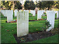 TG2008 : War graves in Earlham cemetery by Evelyn Simak
