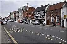 SK3516 : Market Street, Ashby-de-la-Zouch by Philip Halling