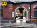 NZ3472 : Entrance, Monkseaton Metro Station by Andrew Curtis