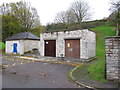 ST6867 : Pumping station and public toilets, The Shallows, Saltford by David Hawgood