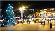 SZ0891 : Bournemouth: The Square gets Christmassy, 2015 by Chris Downer