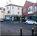ST3087 : Derelict  former Church House pub, Stow Hill, Newport by Jaggery