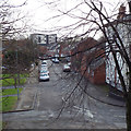 SP3477 : Whitley Village from the footbridge over London Road, Whitley, Coventry by Robin Stott