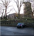 ST3087 : West side of Grade I Listed St Woolos Cathedral, Newport by Jaggery
