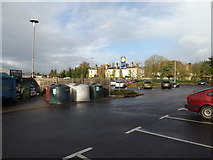 TM1179 : Tesco Diss Superstore Car Park by Adrian Cable