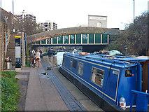 TQ3283 : Rosemary Branch Bridge by Robin Webster