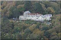 SS7249 : Tor Hotel Lynmouth by Ian S