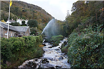 SS7249 : West Lyn River, Lynmouth by Ian S