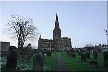 SK2168 : All Saints Parish Church, Bakewell at dusk by Bill Boaden