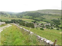 SD9772 : Track descending into Kettlewell by Graham Robson