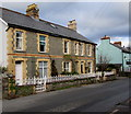 SO2117 : Row of three houses, Hillside Road, Llangattock by Jaggery