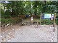 SW6325 : Leaving Penrose Hill car park by David Medcalf