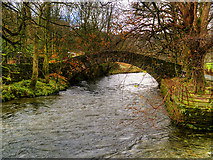 NY3704 : River Rothay and Miller Bridge, Ambleside by David Dixon