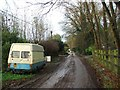 TQ6462 : Rhododendron Avenue, Culverstone Green by Chris Whippet