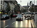 H4572 : Erecting festive lights, Omagh by Kenneth  Allen