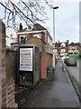 SX9393 : Telephone Box, Polsloe Road, Exeter by David Smith