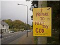 J4036 : Religious Message, Dundrum by Rossographer