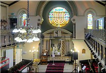 SJ8499 : Inside the Spanish and Portuguese Synagogue by David Dixon