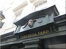 TQ3081 : Pied Bull Yard by Bill Nicholls