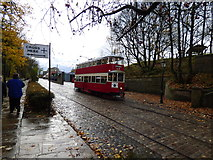 SK3455 : Crich Tramway Museum:  Feltham car 331 by Dr Neil Clifton