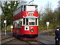 SK3455 : Crich Tramway Museum:  Feltham car No 331 at Glory Mine by Dr Neil Clifton
