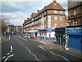 TQ3277 : Flats and offices over shops and a bar, Camberwell Road, Walworth, London by Robin Stott