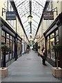 ST1876 : Wyndham Arcade, Cardiff by Alan Hughes