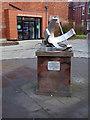 NZ5032 : Sundial Sculpture by Oliver Dixon