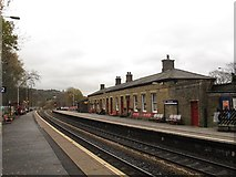 SD9324 : Todmorden station by Stephen Craven