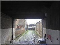 TQ2382 : Mews behind 27 Mortimer Road by David Smith