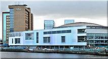 J3474 : The Waterfront Hall, Belfast - November 2015(7) by Albert Bridge