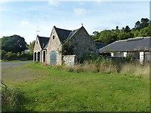 NH6750 : Farm Buildings, Kilmuir by Peter Bond