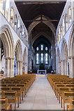 TA2609 : Interior, St James' church, Grimsby by Julian P Guffogg