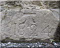 J3331 : Bench Mark, Tollymore by Rossographer