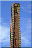 SO8276 : Slingfield Mill chimney in Kidderminster, Worcestershire by Roger  Kidd