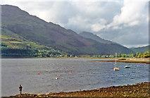NN2904 : Head of Loch Long at Arrochar by Ben Brooksbank