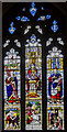TA2609 : Stained glass window, St James' church, Grimsby by Julian P Guffogg