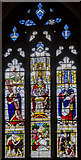 TA2609 : Stained glass window, St James' church, Grimsby by Julian P Guffogg