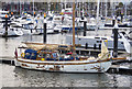 J5082 : Yacht 'Nora' at Bangor by Rossographer