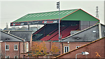 J3674 : The Oval, Belfast (November 2015) by Albert Bridge