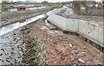 J3674 : Connswater path works, Belfast - December 2015(1) by Albert Bridge