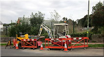 SX9065 : Roadworks, Torre by Derek Harper