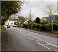 SJ8104 : High Street Speed Check Area sign, Albrighton by Jaggery