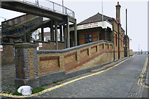 TQ8485 : Former railway station, Leigh-on-Sea by David Kemp