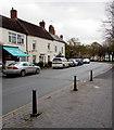 SJ8104 : On-street parking, High Street, Albrighton by Jaggery